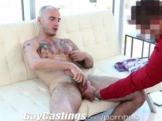 gaycastings झालर पेशी जॉक अश्लील में तोड़ने के लिए चाहता है