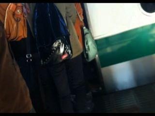 जापानी ट्रेन 1 में वास्तविक gropers