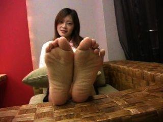 सेक्सी तलवों पैर चीनी किशोर