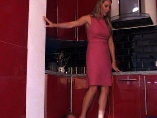 रसोई घर में पैर
