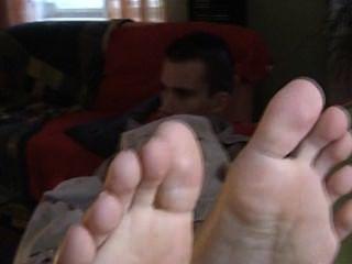 एक आदमी की Petr-पैर