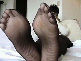 आबनूस pantyhose 6