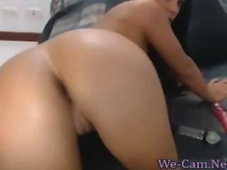 बड़ी प्राकृतिक स्तन श्यामला camgirl हस्तमैथुन खिलौना गर्म वेब कैमरा शो