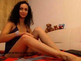 वेब कैमरा फूहड़ - पैर मोज़े नाइलन पैर बुत