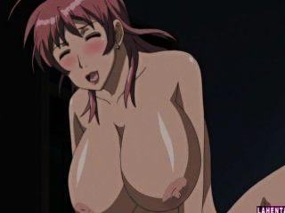 दो विशाल titted हेनतई लड़कियां त्रिगुट में गड़बड़ हो जाता है