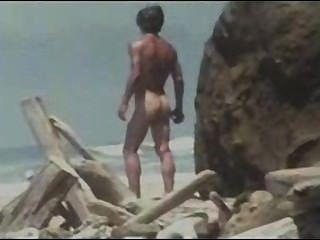 जिम समुद्र तट लड़का (रेट्रो)