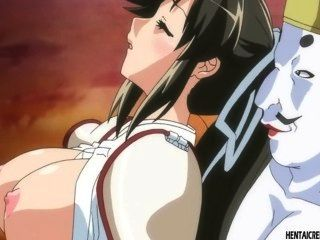 पकड़ा hentai लड़की क्रूरता गड़बड़ हो जाता है