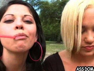बिग गधा pawg तसलीम जेनी हेंड्रिक्स और 2.1 Delatosso Evie