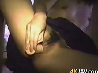 शौकिया जापानी लड़की Masturbating