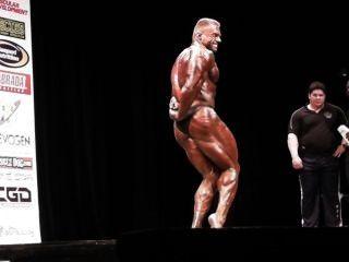 muscledad काले चमकदार posers Eugeny