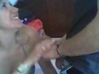गोरा milf blowjob