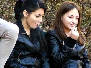 धूम्रपान सुंदर महिलाओं [भाग 1]