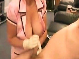 kranken Schwester एमआईटी fetten Titten