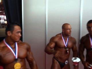 musclebulls: अर्नोल्ड क्लासिक शौकिया 2014 तक 100 किलो, शीर्ष 3 लोग