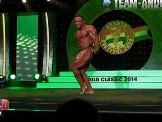 musclebull जोस: प्रस्तुत दिनचर्या अर्नोल्ड क्लासिक 2014