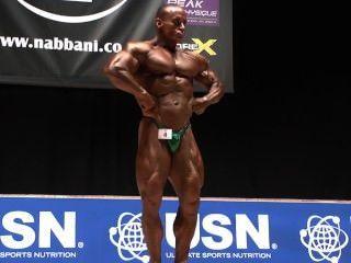 musclebull # 4 मार्क: (ऑस्ट्रेलिया), Nabba दुनिया 2014 - मास्टर्स विजेता