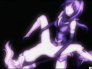 hentai लड़की बिल्ली और गधा किन्नर द्वारा गड़बड़ हो जाता है