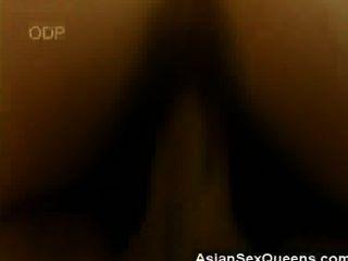 बालों वाले जापानी शहद fucked और पर jizzed