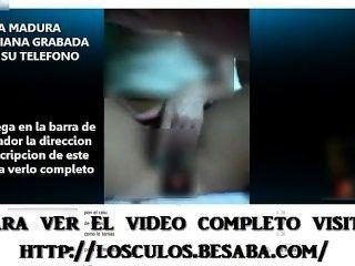 फोन पर कामुक लैटिना Masturbating