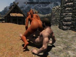 अल्ट्रा HD Skyrim हेनतई porn- vid 1
