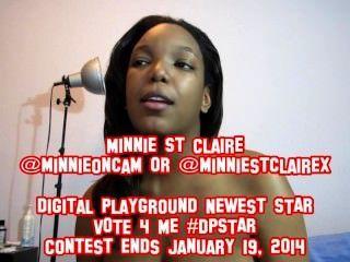 मिन्नी सेंट क्लेयर - ऑडिशन - डिजिटल खेल का मैदान अगले #dpstar