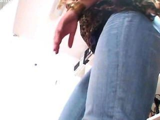 निकोल 24 - काले pantyhose के साथ रौंद-जूता-Footjob