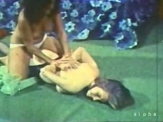 विंटेज बड़े स्तन और Catfight