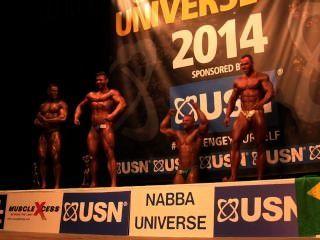 पेशी बैल Nabba ब्रह्मांड 2014 - पुरुषों 1 पुरस्कार
