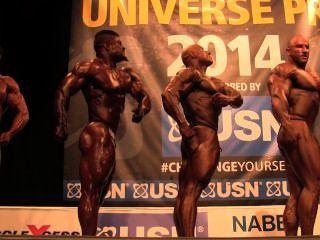 roidgutted musclebulls Nabba ब्रह्मांड 2014, पेशेवरों - दौर 1