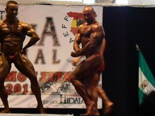muscledad posedown वरिष्ठ III xisco।ओलिम्पिया aeff 2012