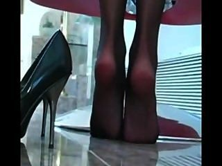 क्लासिक Crissy मोरन पैर जॉय