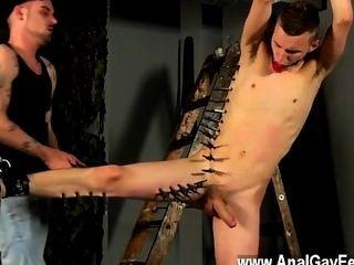 गर्म समलैंगिक Adam से पूरा करने के लिए wanked