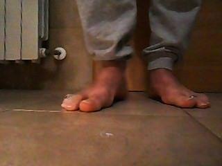 मेरे पुरुष पैर और toerings