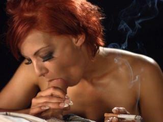 लो लो धूम्रपान blowjob