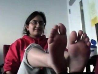 अरब लड़की पैर गुदगुदी