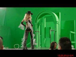 जेसिका अल्बा सिन सिटी 2 से हरे रंग की स्क्रीन पर्दे के पीछे अलग करना