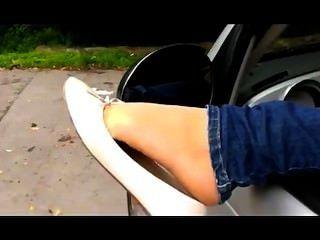 balerinas में अच्छा पैर !!!