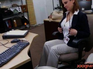 संचिका पत्नी गड़बड़ और पैसे के लिए facialed