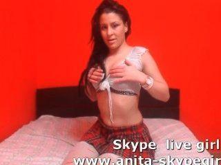 अनीता स्काइपे कैमरा लड़की
