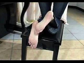 चीनी पैर rubing और प्रस्तुत
