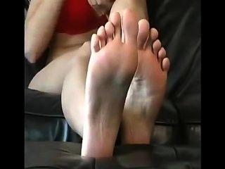 खूबसूरत लड़की पैर जॉय