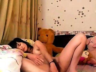 कोरियाई किशोर mastrubating