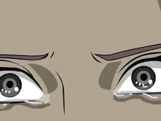 इस दृश्य में Naruto कमबख्त Sakura और सह के बहुत से उसके चेहरे को कवर