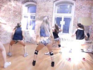 सेक्सी रूसी twerking नृत्य टीम फॉर्मा - दानव winer