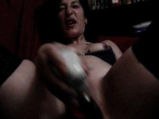ईएमआई puton-एमिली, मुझे कमबख्त 35x12,2 के काले राक्षस के साथ dildo