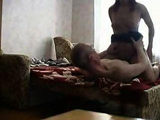 बूढ़े आदमी के साथ रूसी Tenne