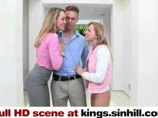 kings.sinhill.com - बड़ी चूची माँ और उसके dauther एक साथ भाग्यशाली आदमी बकवास
