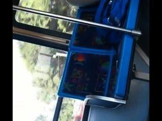 सिटी बस पर अपने लोड शूटिंग