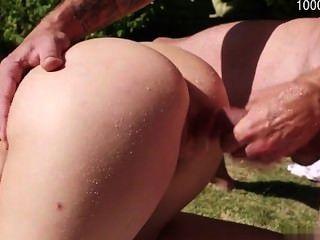 सेक्सी फूहड़ मुश्किल गुदा मैथुन