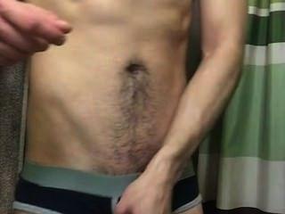 Str8 आदमी गधा गालों फैलता